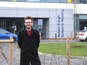David Mackenzie [Park] visits Maiden Erlegh